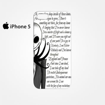 Jack And Sally Nightmare Before Christmas Couple B for Iphone 4/4S Iphone 5/5S/5C Iphone 6/6S/6S Plus/6 Plus 3D Phone case