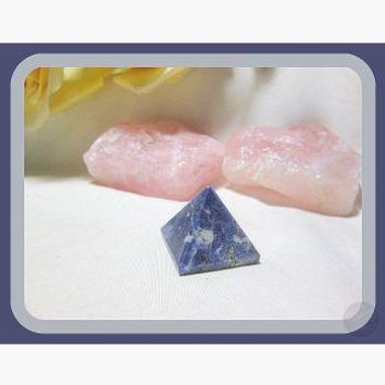 """Stone of Awakening"" Sodalite Pyramid"