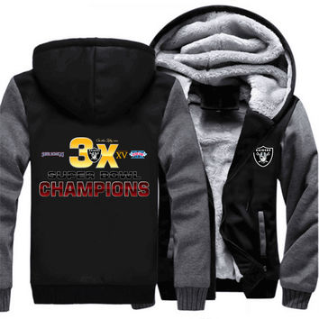 Oakland Raiders Super Bowl Champions Sweatshirt