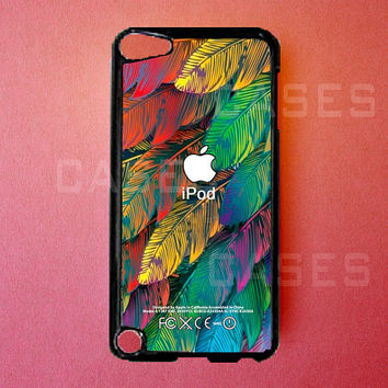 Ipod Touch 5 Case   Colorful Leaves Ipod Touch 5 by DzinerCases