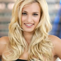 """20"""" Long Wavy Layered Synthetic Wigs for Women Blonde"""