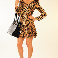 Something Real Dress: Leopard