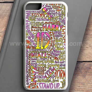 One Direction Harry Styles Tattoos iPhone 6S Case | casefantasy