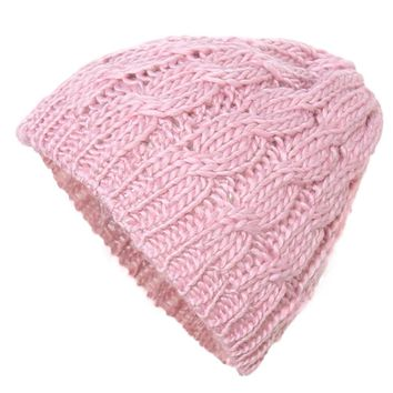 Hot 2016 New Women Ladies Cable Knitted Winter Hats bonnet femme Cotton Slouch Baggy Cap Crochet Beanie gorros Hat for women Z1