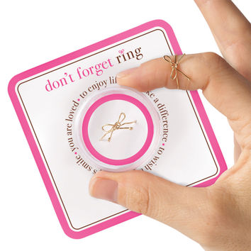 Don't Forget Knot Ring
