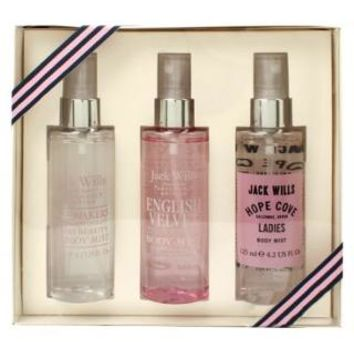 Buy Jack Wills Ladies Body Mist Trio Collection | Gift - Boots