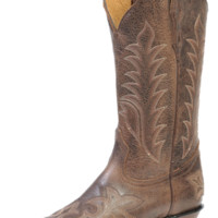 Boulet Snip Toe Selvaggio Wood Cowgirl Boots 1692, Lammle's Western Wear & Tack