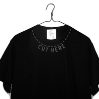 shopwithasianstereotypes: CUT HERE T-SHIRT