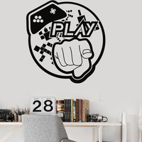 Vinyl Wall Decal Video Game Art Teen Room Gaming Stickers (ig3983)