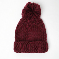 Me To We Chunky Pom Beanie at PacSun.com