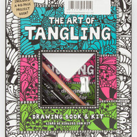The Art Of Tangling Drawing Book & Kit Multi One Size For Women 27520595701