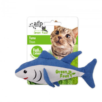 All For Paws Green Rush Canvas Tuna w/Canadian Catnip