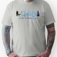 Frozen Daddy of the Birthday Girl Unisex T-Shirt