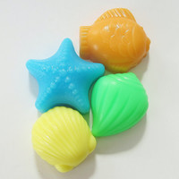 30 BULK OCEAN SEA Soaps  Choose Scent & Color mix by crimsonhill