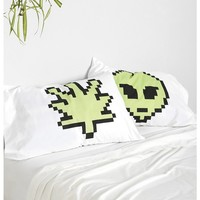 Weird 8 Bit Pillowcase - Set Of 2 - Urban Outfitters