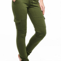 French Terry Cargo Pocket Jogger