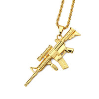 Scoped AR-15 Necklace