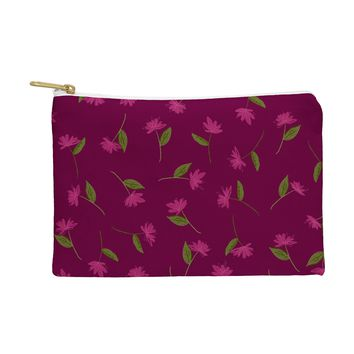 Joy Laforme Summer Garden Mini Flowers Pouch