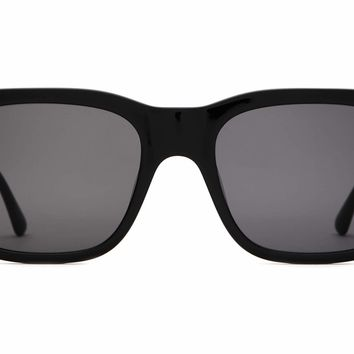 Crap Eyewear - Cosmic Freeway Black Sunglasses / Grey Lenses