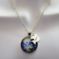 Peace on Earth Long Necklace
