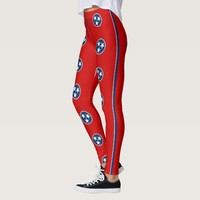 Leggings with flag of Tennessee, USA