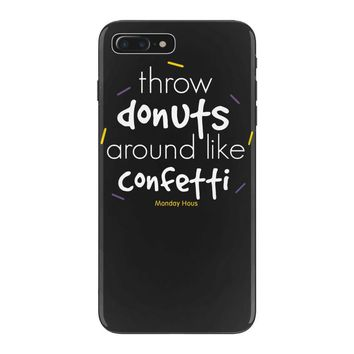 throw donuts iPhone 7 Plus Case
