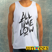 All Time Low Clothing Tank Top For Mens