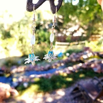 Water Lotus Dangles