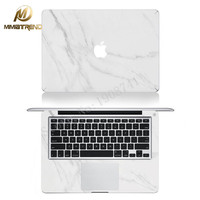 Mimiatrend White Marble Grain Laptop Decal Stickers Case For Apple Macbook Air Pro Retina 11 13 15 Inch Protective Skin Gift
