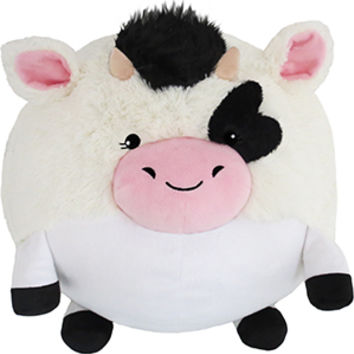 Squishable Spotted Cow: An Adorable Fuzzy Plush to Snurfle and Squeeze!