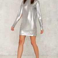 Cheap Monday Sound Metallic Dress