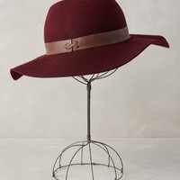 Partridge Floppy Hat by Anthropologie Wine One Size Hats