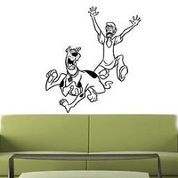 Scooby Doo Cartoon Wall Art Sticker Decal 046