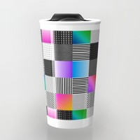 Mondrian Couture Travel Mug by Dood_L