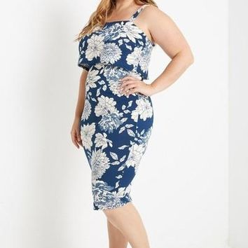 Annabelle Floral Bodycon Dress