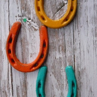GOOD KARMA For You Home3 Horse Shoes In by MountainMarket on Etsy