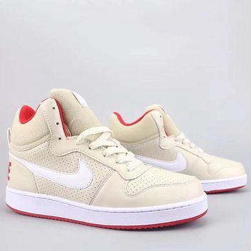 Trendsetter Nike Court Borough Mid Sl Fashion Casual High-Top Old Skool Shoes