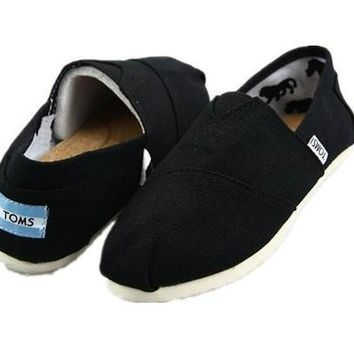 TOMS UNISEX FLAT SHOES FASHION LEISURE LOAFERS