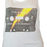 Women's AC/DC Jailbreak Tank T-Shirt by Junk Food