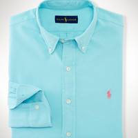 SLIM-FIT SURF-WASH OXFORD