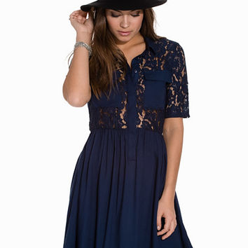 VMNYNNE SS LACE DRESS DA, Vero Moda