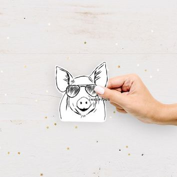 Perry the Pig - Decal Sticker