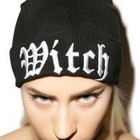Kill Star Witch Beanie Black