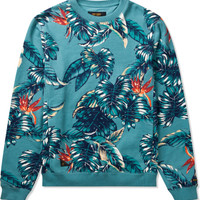 Blue Elephant Dusk To Down Sweater