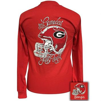 Georgia Bulldogs Athens Its Gameday Yall Ready Long Sleeve T-Shirt