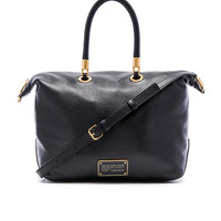 Marc by Marc Jacobs New Too Hot To Handle Top Zip Satchel in Black