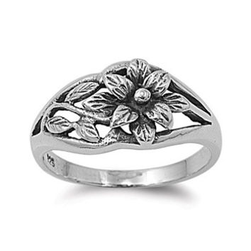 925 Sterling Silver Daisy Innovation Flower Ring