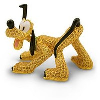 Limited Edition Jeweled Pluto Figurine by Arribas | Disney Store