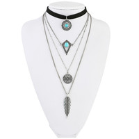 Native American Necklace w/ Choker