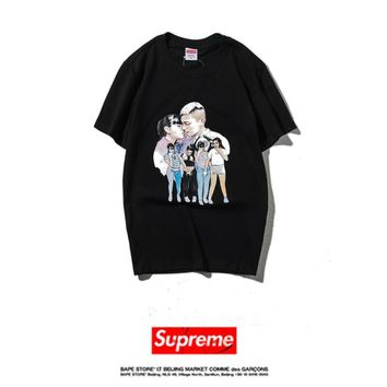 Cheap Women's and men's supreme t shirt for sale 85902898_0023